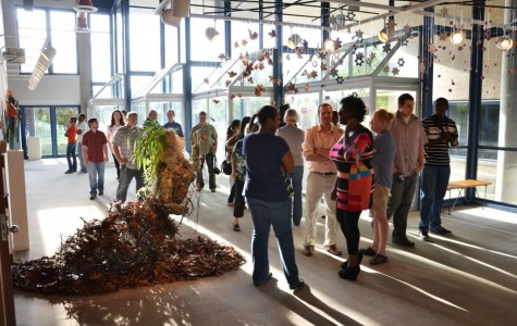 Visual arts seniors showcase projects