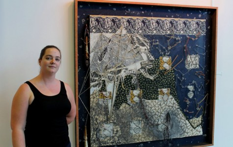 Rhodes on display at Hyman Fine Arts Center