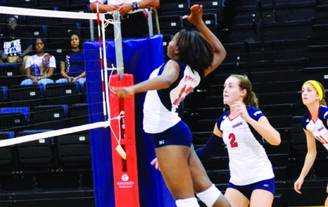 Volleyball splits in PBC action