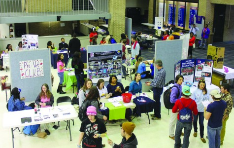 Involvement Fair helps students spring into action