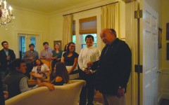 FMU president host honor students, faculty