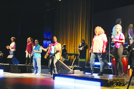 MI ensemble takes stage at PAC, Students perform '80s music, learn about industry