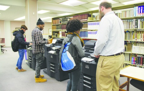 FMU printing policy reduces paper waste