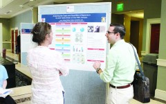 Students present posters, speeches on research projects