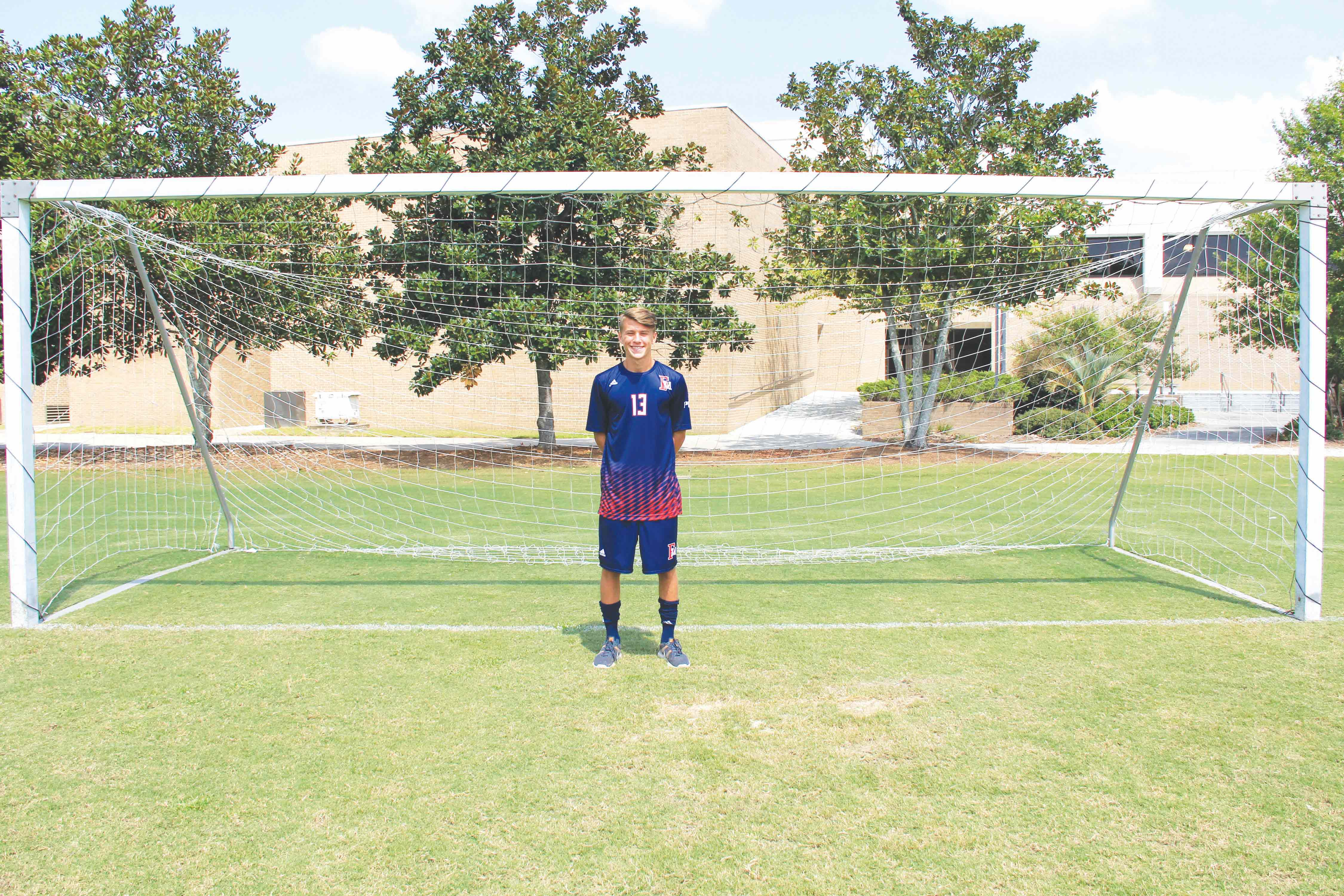Freshman soccer player Austin Lee is a licensed coach through the U.S. Soccer Federation and teaches children soccer.