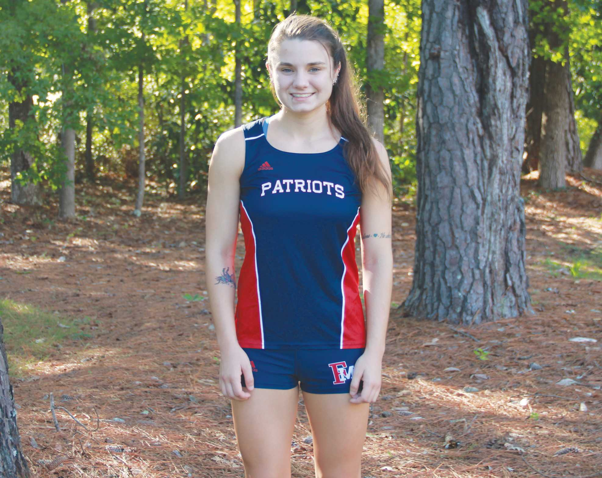 Junior Mackenzie Arnold runs cross-country and takes advantage of the opportunities FMU offers, including studying abroad.