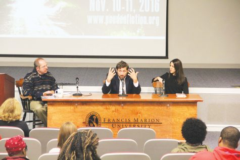 FMU hosts annual literature festival: Pee Dee Fiction and Poetry Festival returns to campus
