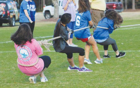 Intramural teams participate in Patriot Games
