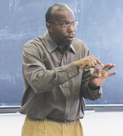 Professor Spotlight: Dr. Leroy Peterson