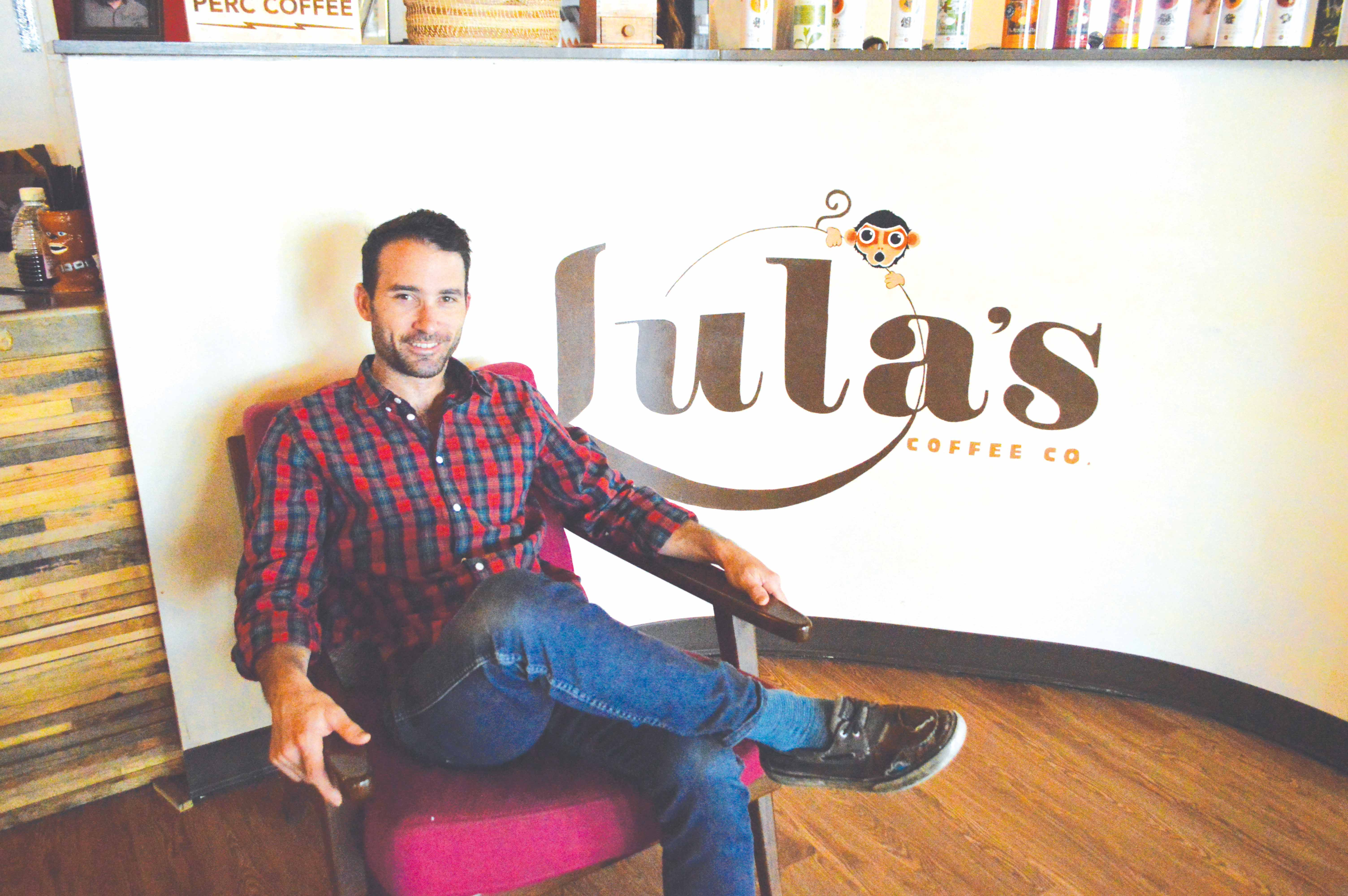 Jeff Felten, a 2010 graduate, has worked at Lula's Coffee Company since the company's opening in 2012. Felten started a coffee roasting company after developing a passion for the coffee industry.