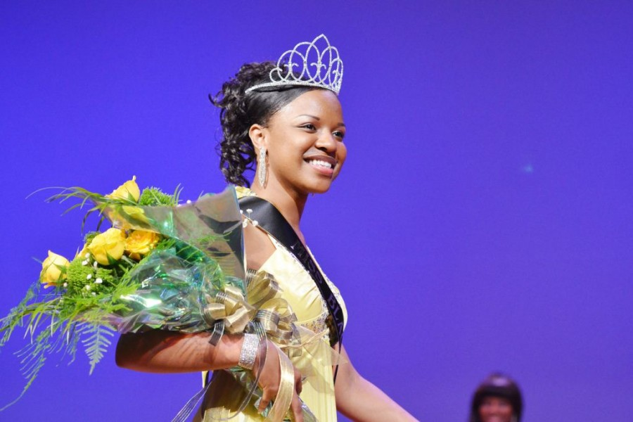 Anidra Graham crowned Ms. Black and Gold