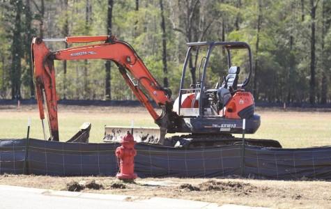 Construction begins on new Athletics Center