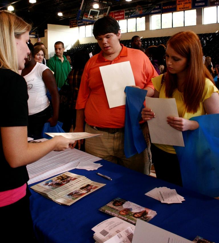 College Fair attracts massive crowd