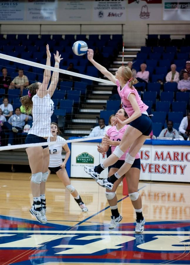 Patriots snake victory from Cobras in annual Dig Pink volleyball match
