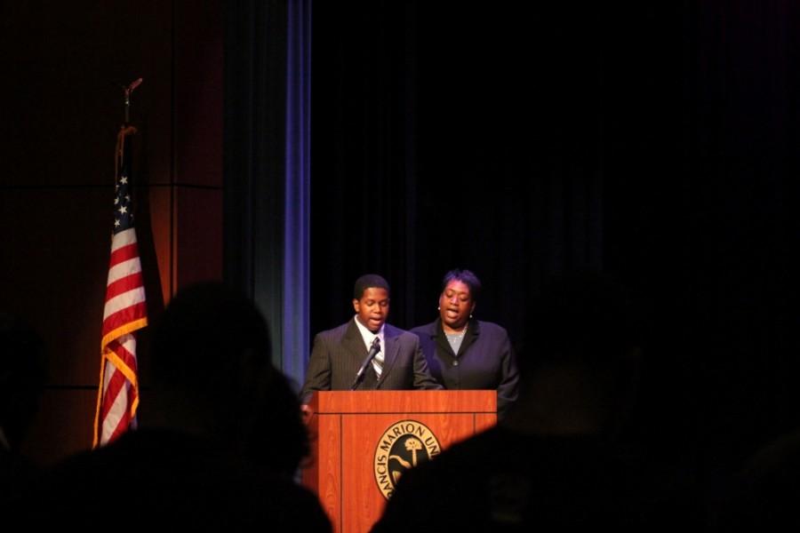 Campus+celebrates+MLK+Day