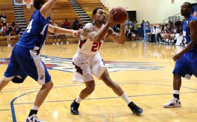 Patriots defeat high-ranked Montevallo Falcons 60-49