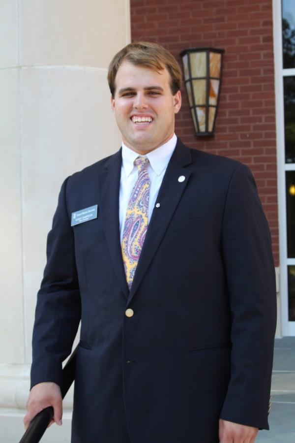 SGA+Senator+Cody+Simpson+takes+new+position+in+the+South+Carolina+Student+Legislature