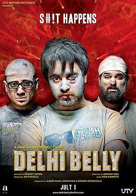 """Delhi Belly"" breaks Indian cinema tradition"