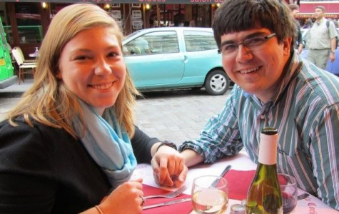 Couple spends semester in Caen, France