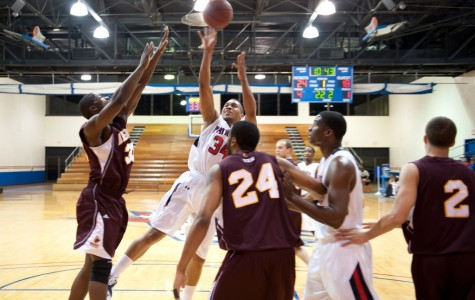 FMU men's basketball team marches over Saints during Homecoming game