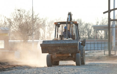 Construction of athletic complex behind schedule