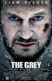 "Liam Neeson struggles for survival in ""The Grey"""