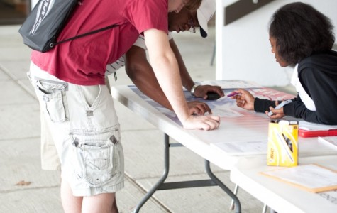 FMU organizations hold voter registration drive