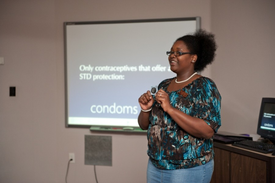 Zeta Phi Beta informs about dangers of STDs