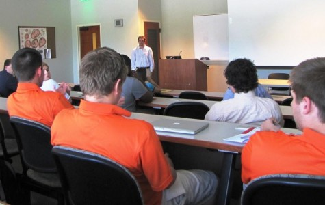 Undergraduates present at annual FMU math conference