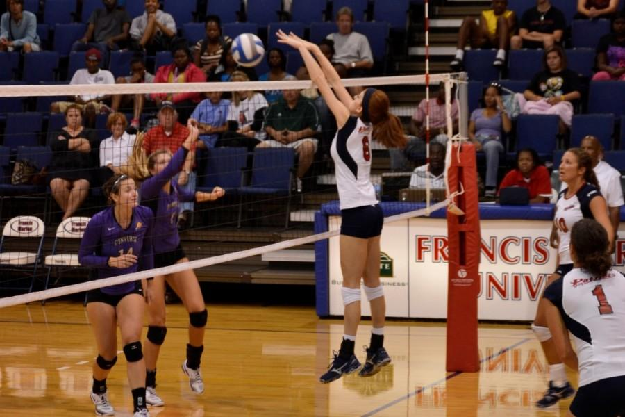 Patriots defeat Valkyries: FMU ladies win heated match against Converse College