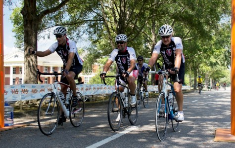 CYCLISTS CRUISE FOR A CURE: Hundreds of competitors race to raise money for Multiple Sclerosis