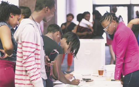 Rally for voter registration SMA, SGA and NAACP promote students' political awareness