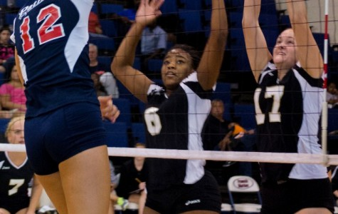 FMU sweeps UNCP in PBC volleyball opener