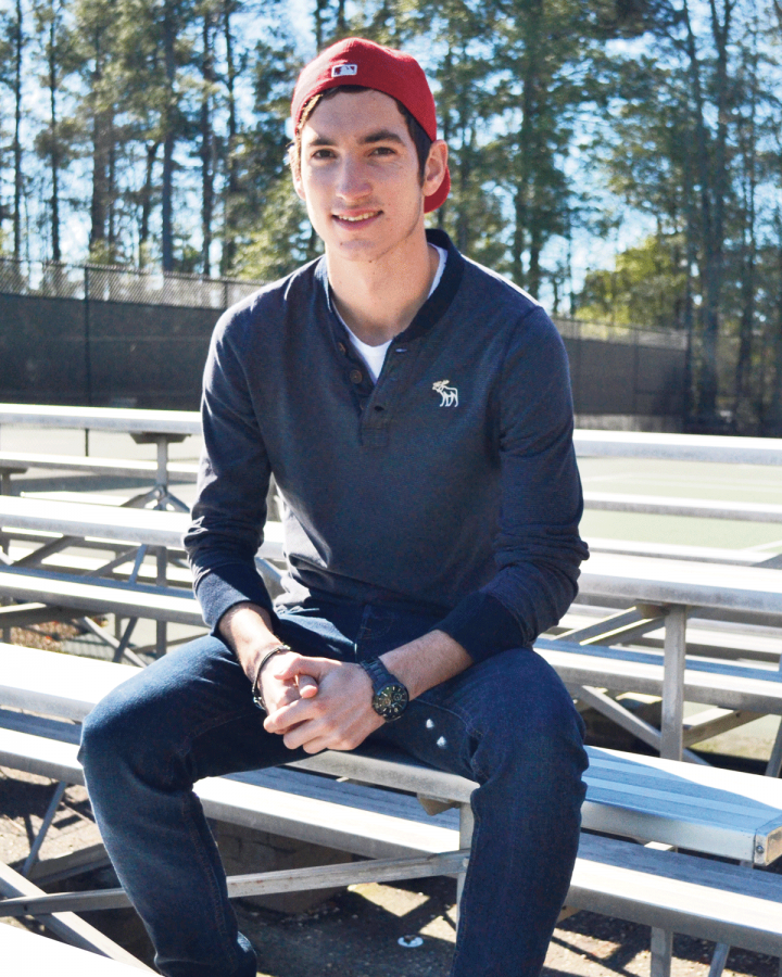 Tennis MVP Alex Caspari prepares for 2013 season