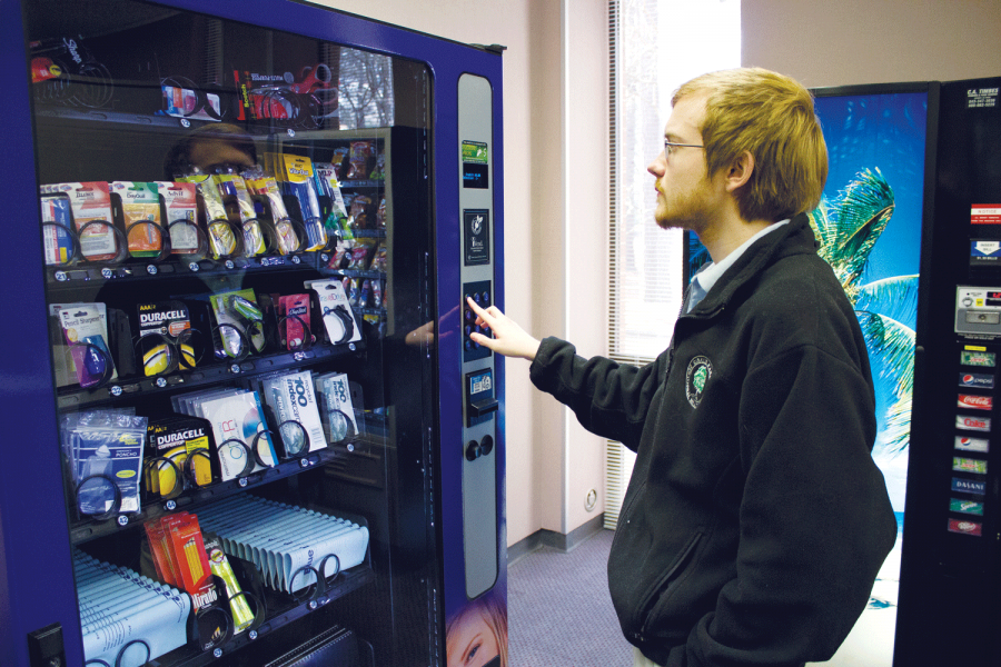 Library introduces new vending machines