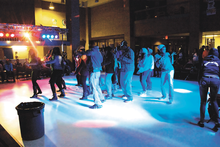 SAA hosts homecoming dance