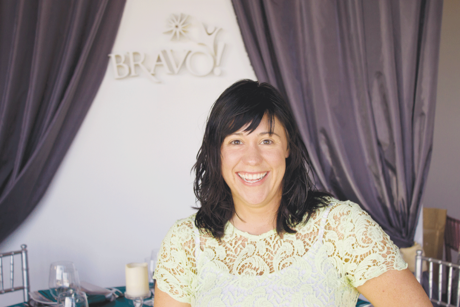 Alumna Perteka utilizes PR degree at Bravo!