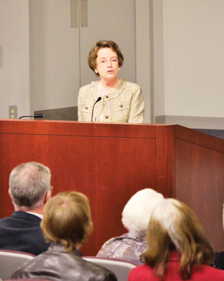 Kirley-Tallon gives Moran Address