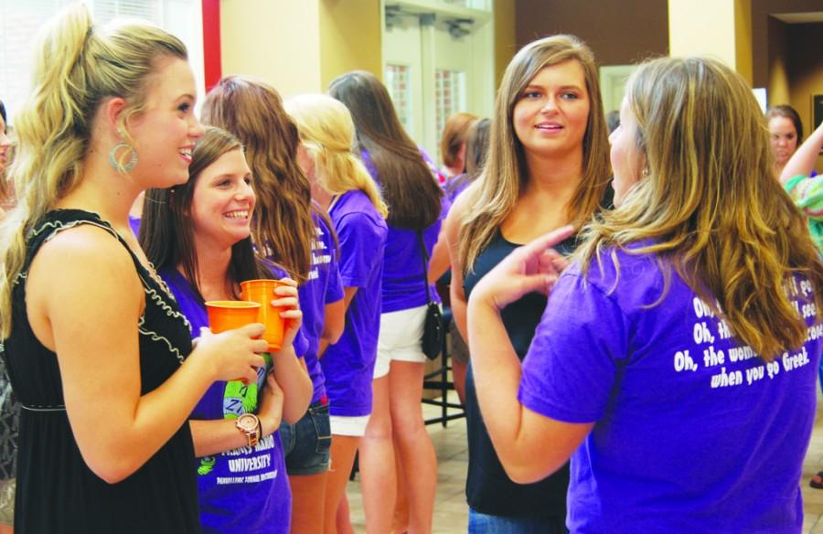 Social introduces students to NPC Greek life