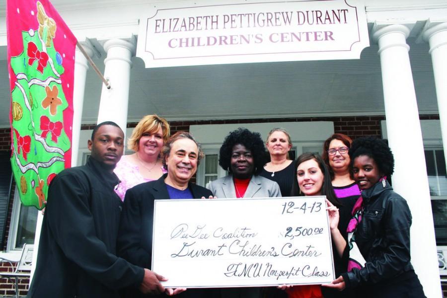 Business class donates to children's center