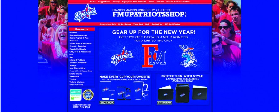 Online athletic store in full operation