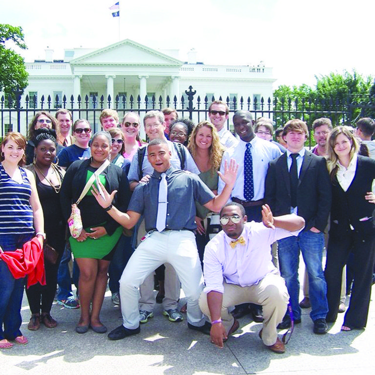 FMU students, faculty visit Washington, D.C.