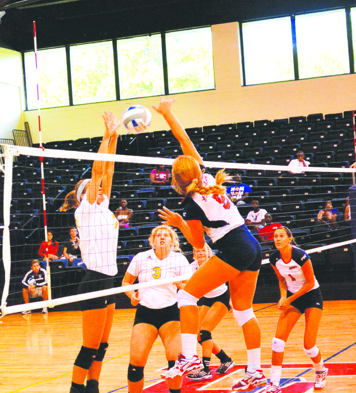 FMU volleyball breaks even at Patriot Invitational tournament