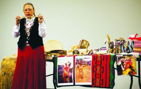 Guest speaker brings Native American culture to campus