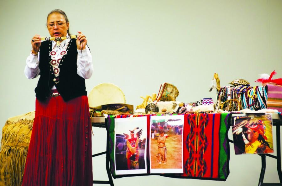Guest speaker brings Native American culture to campus