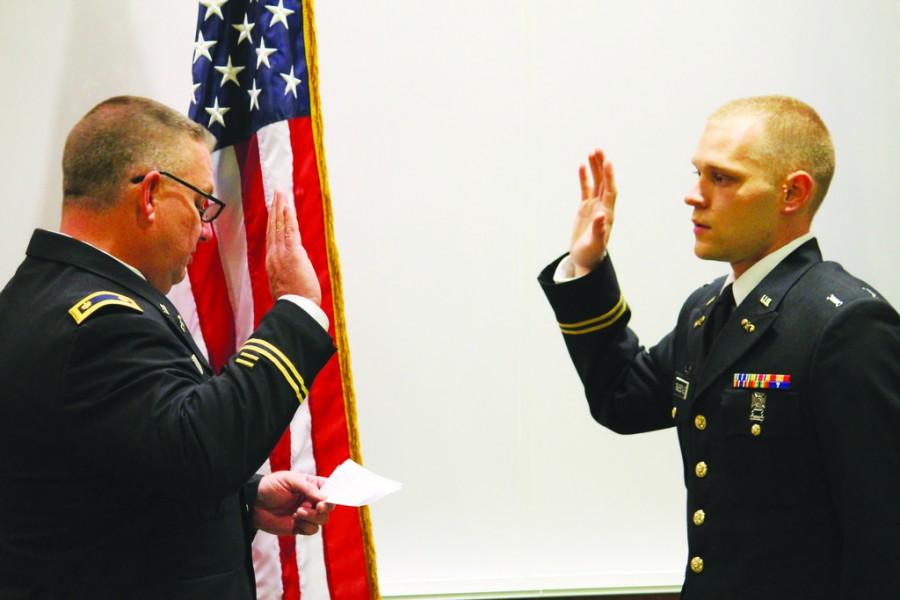 ROTC cadet ceremony honors Truesdale