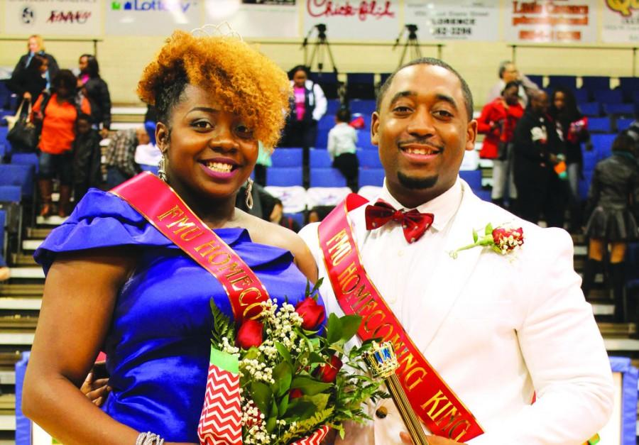 FMU crowns homecoming royalty