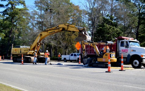 Road work continues