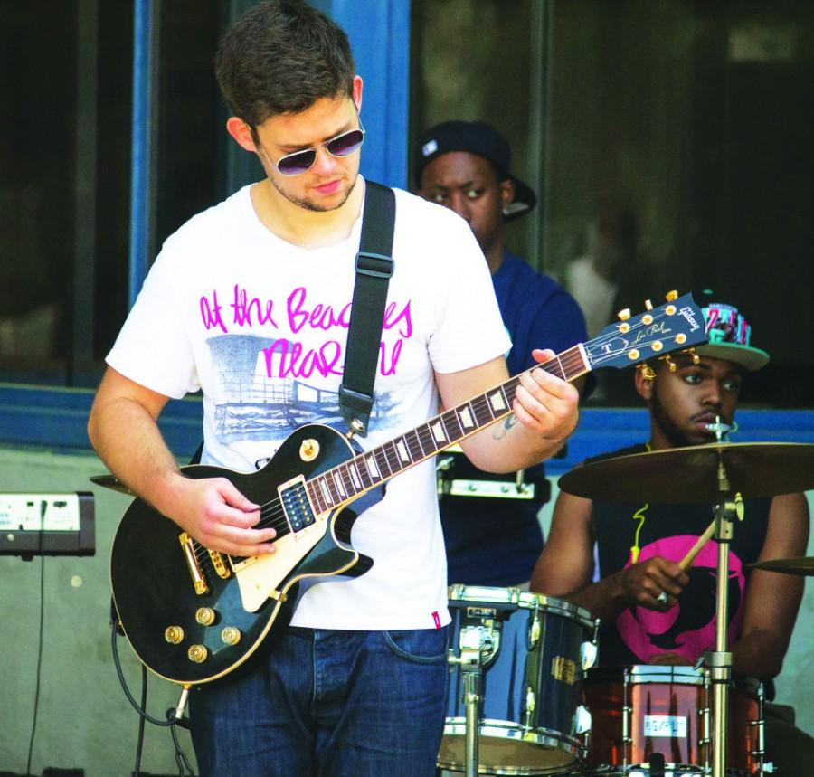 Exchange student embraces music program