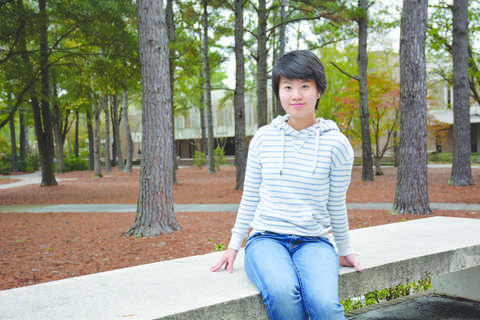 Junior accounting major Yaping Yang recently earned her U.S. citizenship. Yang moved to the U.S. from China in 2009 and has lived in South Carolina since 2012.
